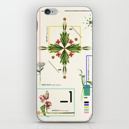 Wild Flowers_1 iPhone Skin