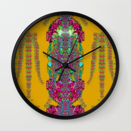 rainy day to cherish  in the eyes of the beholder Wall Clock