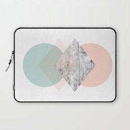 pastel shapes Laptop Sleeve