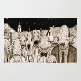 Innsmouth Meeting Rug