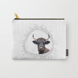 Yellow Horns Carry-All Pouch