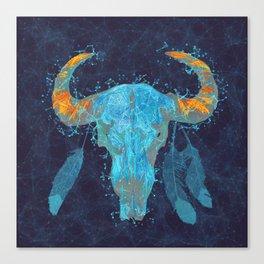 Skull totem Canvas Print