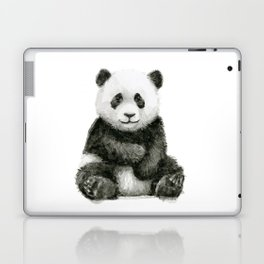Panda Baby Watercolor Laptop & iPad Skin