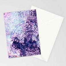 Space mandala 23 Stationery Cards