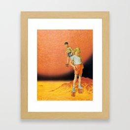 hot stilts  Framed Art Print