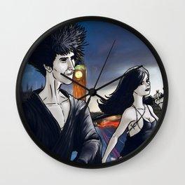 Dream and Death Wall Clock