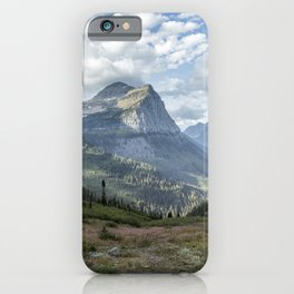 Catching a View from Going to the Sun Road iPhone Case
