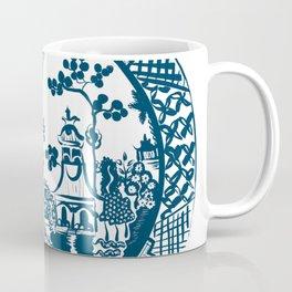 Classic Blue Willow Coffee Mug