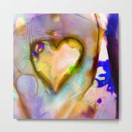 Heart Dreams 4J by Kathy Morton Stanion Metal Print