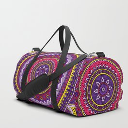 Hippie mandala 40 Duffle Bag