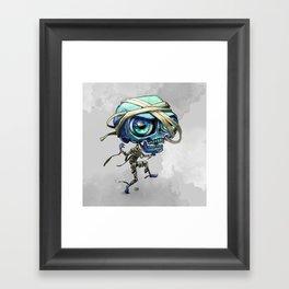 Little Mummy Creep Framed Art Print