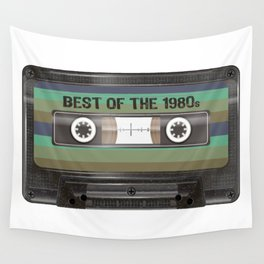 Birthday made in 1980s, vintage Best of Cassette Tape birthday Tee Wall Tapestry
