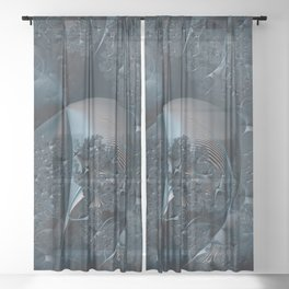 Brainstorm Sheer Curtain