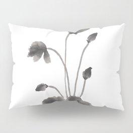 Ink flower Pillow Sham