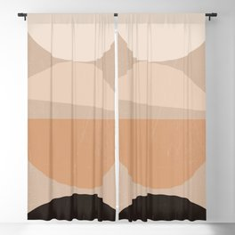 Minimal Abstract Shapes 36 Blackout Curtain