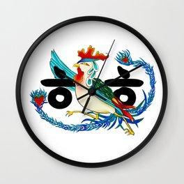 Initial Minhwa: ㅎㅎ Wall Clock