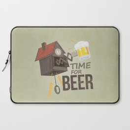 TIME FOR BEER Laptop Sleeve