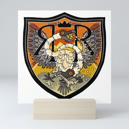 RR Heraldry (HQ) Mini Art Print