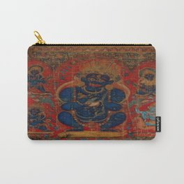 Mahakala as Lord of the Tent Carry-All Pouch
