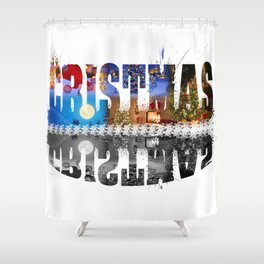 Cristmas Shower Curtain