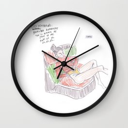 The nomad edition (4) Wall Clock