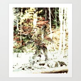 Bigfoot Predator Art Print