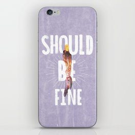 Should Be Fine-Sonic Screwdriver-Doctor Who iPhone Skin