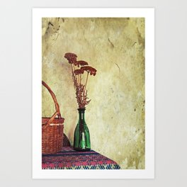 Still Life with Yarrow Art Print