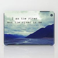 maori iPad Cases featuring I am the River and the River is Me - Maori Wisdom - the world view by Tiki Kiwi