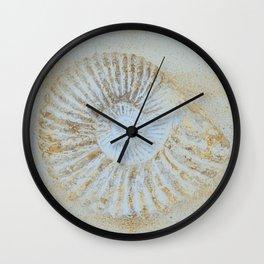 Ammonites Wall Clock