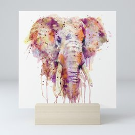Elephant Head Mini Art Print