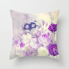 bouquet with light Throw Pillow