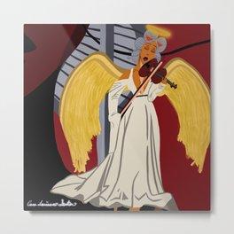 Angel on Carma's Shoulder Metal Print