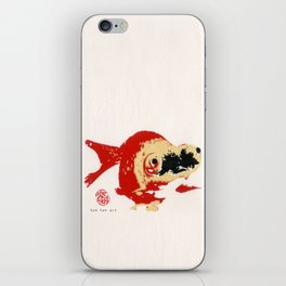 Gold Fish 2 iPhone Skin