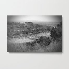 once was flowing Metal Print