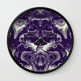Metamorph Dark Wall Clock