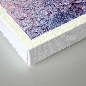 pink wallpaper  Canvas Print