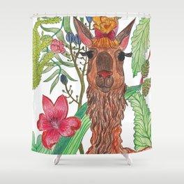Lama Shower Curtain