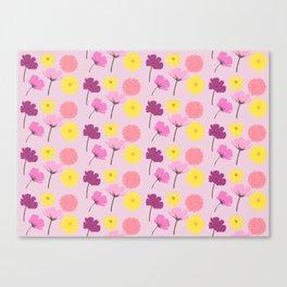 Pressed Flowers Canvas Print
