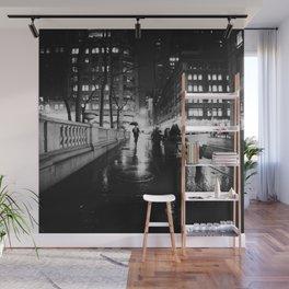 New York City Noir Wall Mural