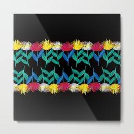 pincushion-flower Metal Print