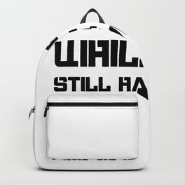 Dental Care Motivational Quote Dentist Backpack
