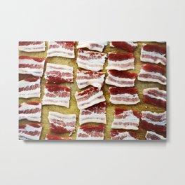 Bacon paradize Metal Print