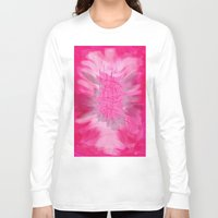 poem Long Sleeve T-shirts featuring pink poem  by sladja