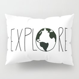 Explore the Globe x BW Pillow Sham