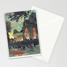 Vintage French Travel Poster: Paris-Lyon-Mediterranean - Vichy (1910) Stationery Cards