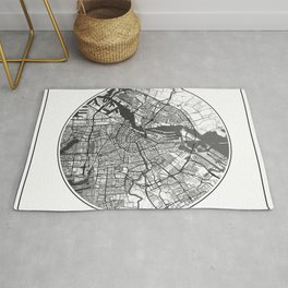 Amsterdam Map Universe Rug