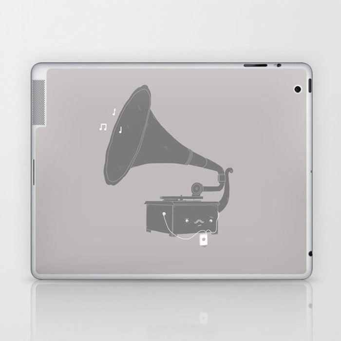 Get with the times Laptop & iPad Skin