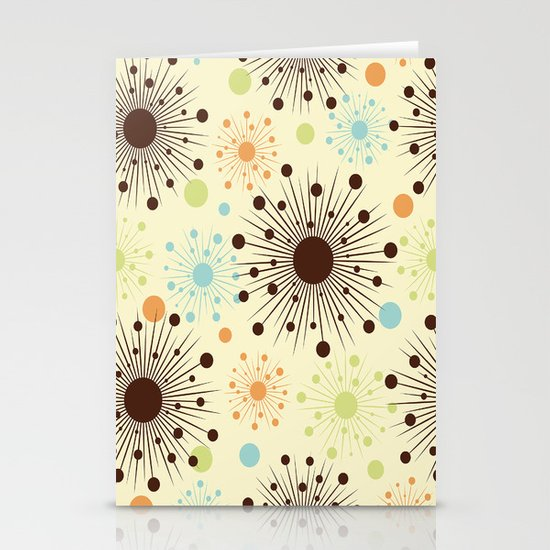 Abstract Pattern III Stationery Cards