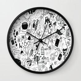 Hogwarts, Hogwarts, Hoggy Warty Hogwarts Wall Clock